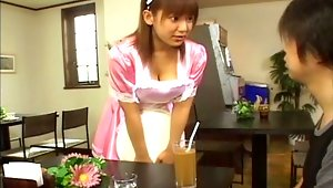 Amateur Eri Yukawa knows that nothing goes well together than blowjobs and titjobs. Watch as Eri Yukawa give her man the best blowjob he's ever had. And to cap things off, Eri Yukawa finishes off the great treat by giving her man a memorable tit job. These are two jobs her man will not soon forget.video
